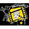 HOLLYWOOD OLD TIME CAMERA FILMSTRIP CHAPLIN FACE PIN