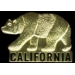 CALIFORNIA BEAR GOLD LOGO PIN