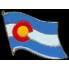 COLORADO PIN STATE FLAG PIN