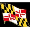 MARYLAND PIN STATE FLAG PIN
