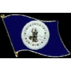 VIRGINIA PIN STATE FLAG PIN