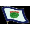 WEST VIRGINIA PIN STATE FLAG PIN