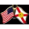 FLORIDA PIN STATE FLAG USA FRIENDSHIP FLAGS PIN
