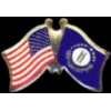 KENTUCKY PIN STATE FLAG USA FRIENDSHIP FLAGS PIN