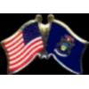 MICHIGAN PIN STATE FLAG USA FRIENDSHIP FLAGS PIN