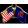 UTAH PIN STATE FLAG USA FRIENDSHIP FLAGS PIN