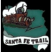 SANTA FE TRAIL HISTORICAL PIN