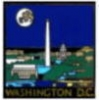 CITY OF WASHINGTON, DC IN THE MOONLIGHT PIN