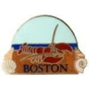 CITY OF BOSTON, MA LOBSTER AT THE BEACH PIN
