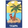 CITY OF TAMPA, FL PALM TREE PIN