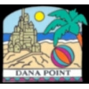 DANA POINT, CA SAND CASTLE PIN