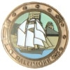 City Of Baltimore, Maryland Pin Schooner Ship Hat Lapel Pins