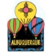 CITY ALBUQUERQUE, NEW MEXICO BALLOON CITY PIN