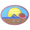 ORANGE COUNTY,CA BEACH DOLPHINS SUNSET PIN
