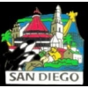 CITY OF SAN DIEGO, CA SIGHTS AND SCENES PIN