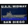 CITY OF SAN DIEGO, CA U.S.S. MIDWAY MUSEUM SHIP PIN