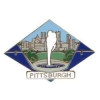 CITY OF PITTSBURGH, PA SKYLINE WITH POINT PARK FOUNTAIN PIN