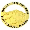 ROCKY MOUNTAIN NATIONAL PARK CUTOUT HAT LAPEL PIN