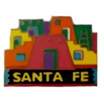 CITY OF SANTA FE, NEW MEXICO PUEBLO PIN