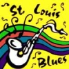 CITY OF ST LOUIS, MO SAXOPHONE BLUES MUSIC PIN