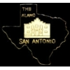 CITY OF SAN ANTONIO, TEXAS ALAMO TX HAT, LAPEL PIN