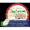 CANADA PIN CITY OF VICTORIA BC EMPRESS HAT LAPEL PINS