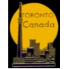 CANADA PIN CITY OF TORONTO HAT LAPEL PIN