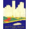 CITY OF PITTSBURGH, PA RIVER SKYLINE PIN