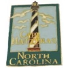 CAPE HATTERAS, NORTH CAROLINA NC LIGHTHOUSE HAT, LAPEL PIN