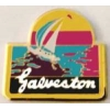 CITY OF GALVESTON, TEXAS TX SAILBOAT PIN