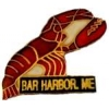 CITY OF BAR HARBOR, ME LOBSTER PIN