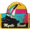 CITY OF MYRTLE BEACH, SC SAILBOAT PIN