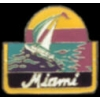 CITY OF MIAMI, FLORIDA SAILBOAT PIN