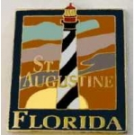 ST AUGUSTINE LIGHTHOUSE, FLORIDA FL PIN HAT, LAPEL PIN