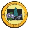 Colorado Pin CO State Emblem Hat Lapel Pins