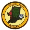 Indiana Pin IN State Emblem Hat Lapel Pins