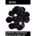 PIN BACKS BLACK RUBBER #100 COUNT PLASTIC CLUTCHES TACK BACKS