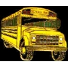 SCHOOL BUS ANGLED LARGE PIN