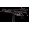 HECKLER AND KOCH MP5 BLACK MACHINE GUN LARGE PIN