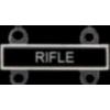RIFLE QUALIFICATION ATTACHMENT RIFLE ROCKER BADGE DX
