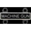 MACHINE GUN QUALIFICATION ATTACHMENT MACHINE GUN ROCKER BADGE DX